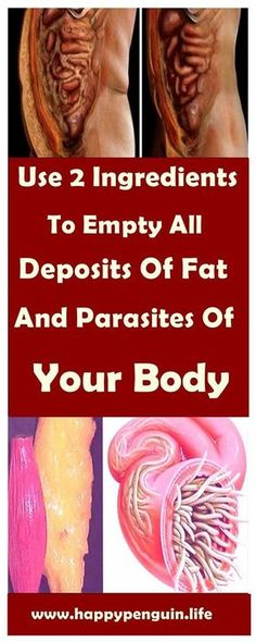 There is an easy way to eliminate parasites and fat deposits from your body with no effort at all. The process of burning fat can be complicated although expert