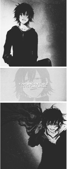 Your wing isn't able to fly anywhere. || Ayato Kirishima // TG