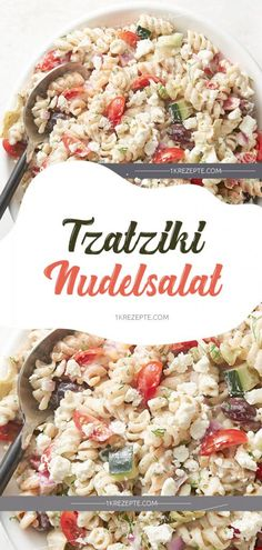 Yes Recipes: Search results for Tzatziki-Salat Fruit Recipes, Pasta Recipes, Salad Recipes, Cooking Recipes, Healthy Recipes, Tzatziki, Noodle Salad, Pasta Salad, Gnocchi Pesto