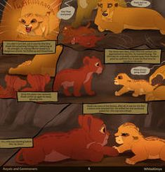 Those of you that guessed Ahadi was going to magically wake up. But he didn't wake happily li. AUS: RaC - Page 6 Lion King Tree, Lion King Story, Lion King Fan Art, Lion King 2, Simba Disney, Disney Lion King, Disney And Dreamworks, Disney Fan Art, Disney Fun