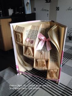 "Book folding pattern ""Babybricks"""