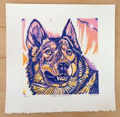 cool wood block prints