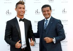 Cristiano Ronaldo in the Jacob & Co Party in Monte Carlo on Presentwatch