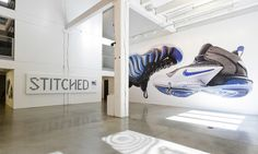 """A Look Inside the """"Stitched"""" Exhibition at Wieden+Kennedy Portland"""
