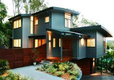 Minimalist Wonderful Exterior House Painting, exterior paint ideas, exterior paint color ideas ~ Home Design Exterior Paint Colors For House, Paint Colors For Home, House Colors, Exterior Colors, Design Exterior, Modern Exterior, Facade Design, Exterior Homes, Rustic Exterior