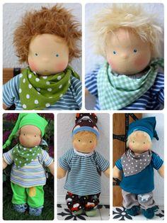 Sonntagskind (39cm) für Jungs, Wunschpuppe von JuniKate Puppen auf DaWanda.com