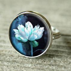 Gemstone Rings, Gemstones, Floral, Flowers, Jewelry, Jewlery, Gems, Jewerly, Schmuck