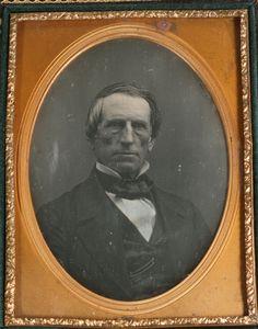 Daguerreotype A P Granger Whig Party N Y 1852 I D UNDER1 4 Plate Full Case…