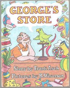 Childrens-Book-GEORGES-STORE-Frank-Asch-B-Wiseman