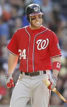 Bryce Harper -- I don't like the Nats, but he is mighty attractive