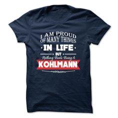 (Tshirt Awesome T-Shirt) KOHLMANN Best Shirt design Hoodies, Funny Tee Shirts