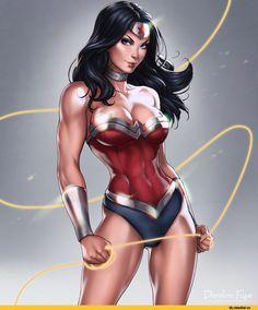 Dandonfuga,Dandon-fuga,artist,Wonder Woman,Чудо Женщина, Принцесса Диана из Темискиры,DC Comics,DC Universe, Вселенная ДиСи,фэндомы