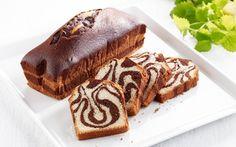 Glutein-free stripey pound cake (Tiikerikakku)