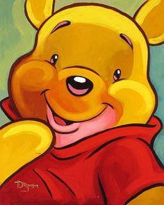 Disney Fine Art - Ahh Shucks? Winnie The Pooh. Biggs Ltd. Gallery. Heirloom quality bridal, art, baby gifts and home decor. 1-800-362-0677. $395.