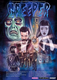there is a lot of anticipation and it's very palpable as an excited nervous feeling is in the air, at Manchester's Academy 2 for the sold-out first night of Creeper's 2017 UK Tour. Manchester Academy, Hard Rock Music, Creepers, First Night, Tours, Movie Posters, Leeds, Concerts, Live
