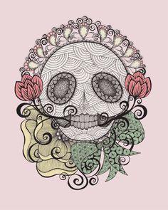 Skull Fiesta - Danielle Reck