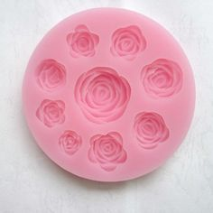Allforhome Rose Blooming Sillicone Fondant and Gum Paste Silicone Resin Candy Moulds Cake Decoration Molds *** Find out more details @ : bakeware