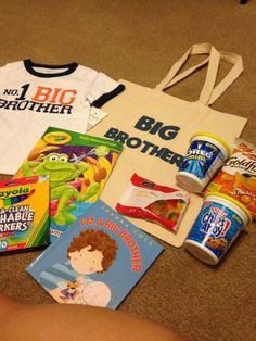 Baby Shower Gifts For Mommy Hospital Bag Big Sisters 29 Ideas For 2019 Big Brother Kit, Gifts For Brother, Brother Sister, Mommy Hospital Bag, Big Sibling Gifts, Baby Shower Gifts, Baby Gifts, Baby Makes, Second Baby