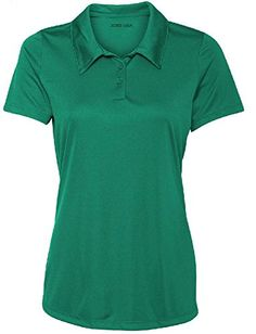 Ladies Golf Polos – Moisture Wicking 3-Button Golf Polos in 20 Colors – XS-3XL