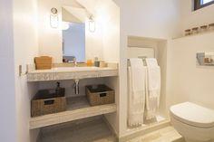 Location vacances villa Pyla sur Mer: salle de bain n°2, baignoire