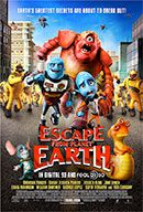 Astronaut Scorch Supernova finds himself caught in a trap when he responds to an SOS from a notoriously dangerous alien planet. ESCAPE FROM PLANET EARTH cast includes Sarah Jessica Parker, Jessica Alba, Brendan Fraser, William Shatner, Craig Robinson and Rob Corddry.
