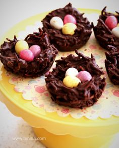 THERMOMIX Easter Chocolate Nests - Cooking with Tenina