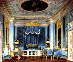 Gatchina palace. Front bedroom.