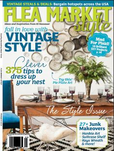 Flea Market Style Magazine Subscription | Magazines | Pinterest ...