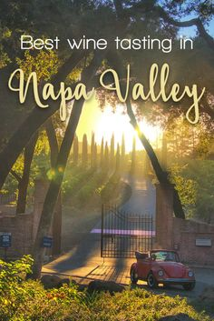 Wine tasting in Napa Valley - our review of wineries. Which winery is the best one? Which wine is worth tasting? Visit us and find out!