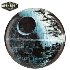 Star Wars Death Star Curved Metal Sign⎢Open Road Brands