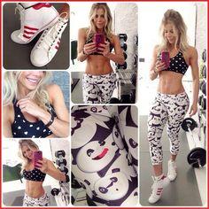 Inspire-se em 40 looks de academia de Karina Bacchi, a nova musa fitness