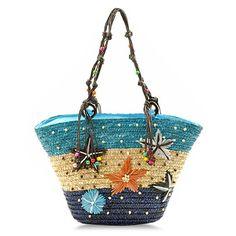 Weaving Design Shoulder Bag For Women