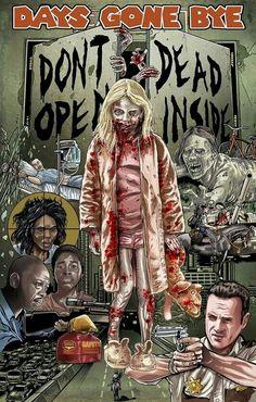 Walking Dead Art