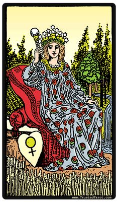 Traditionally associated with strong maternal influence, the presence of the Empress is excellent news if you are looking for harmony in your marriage or hoping to start a family. Any artistic endeavours you are currently associated with are also likely to be more successful, as this card often finds those exposed to strong bursts of creative or artistic energy. That creative energy may not be in the form of a painting or art project, however: This card also suggests a very strong…