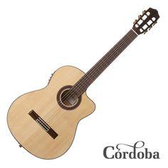 Cordoba GK Studio Iberia Series Classical Guitar with Electronic and Gig Bag