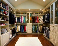 Nice Walking Closet.