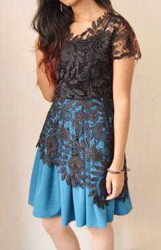 DIY Lace Dress FREE Tutorial