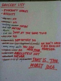 Ooh Louis, Liam had fix his shopping list