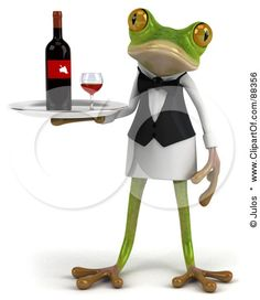 How to Spot a Frog in a Bar - An amusing words of wisdom post by Kris Anderson