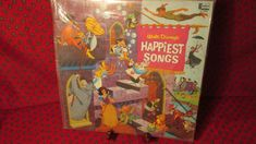 Children's LP: Walt Disney's Happiest Songs by trackerjax on Etsy Happy Song, Childrens Christmas, Used Vinyl, Vinyl Records, Lp, Walt Disney, Disneyland, Songs, Handmade