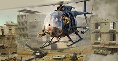 US AH-6J Little Bird in Iraq