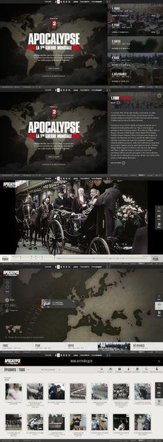 Apocalypse, la 1ère Guerre mondiale \\ Great website. http://apocalypse.france2.fr/premiere-guerre-mondiale/