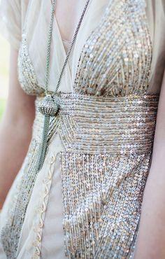 shine and glitter dress