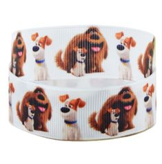 2m X 22mm Secret Life of Pets Grosgrain Ribbon for Party/'s Cakes Gift Wrap Hair