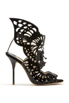 Sophia Webster Spring 2014 @Gabrielle Pollacco I think I saw you've pinned butterfly inspired shoes before :)