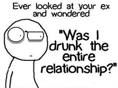 Seeing your ex after a year… and yes yes i was!!!!