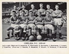 Poster-Chelsea Football Club - poster sized print mm) made in Australia Chelsea Football, Chelsea Fc, Back Row, Front Row, Jimmy Greaves, Poster Size Prints, Online Printing, Prints Online, Canvas Prints