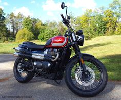 Take a look at a number of my favorite builds - handpicked scrambler concepts like Triumph Street Scrambler, Scrambler Motorcycle, Triumph Motorcycles, Triumph Bonneville, Classic Bikes, Motorbikes, Wheels, British, Number