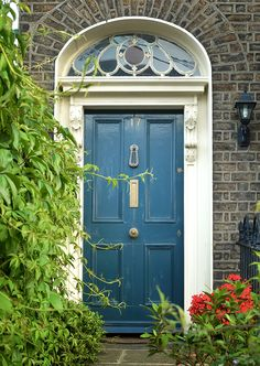 The door which located at the 17 Camden Row, Dublin.