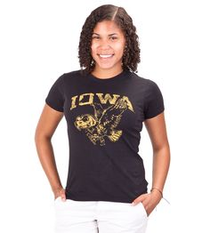 Iowa Hawkeyes Champion Women's Campus Tee